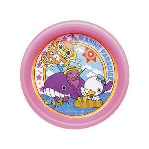 【海水浴 プール グッズ】イガラシ マリンパラダスプール(ピンク)PLN-102PK【510】 bluepeter