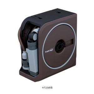 【散水用品】タカギ nano next 20m 内径7.5mm ホースリール RM1220BR【526】 bluepeter