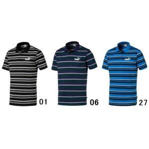 【ゴルフウエア】PUMA(プーマ) ESS+ ジャージー 半袖ポロシャツ 854261【350】|bluepeter