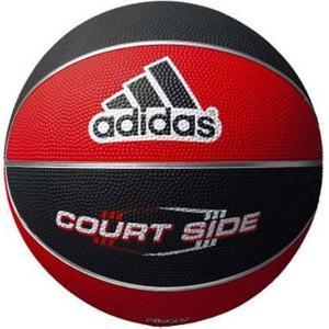 【バスケットボール】ADIDAS(アディダス) コートサイド 7号球(中学生〜一般)AB7122RBK【350】|bluepeter