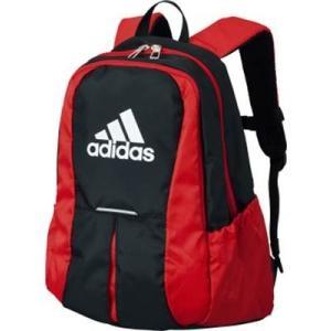 【スポーツバッグ】ADIDAS(アディダス) サッカー用デイパック(ネット付)ADP24BKR【350】|bluepeter