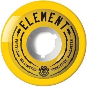 【スケートウィール】ELEMENT(エレメント) FILMER(4個1セット)54mm AF027-304【350】|bluepeter