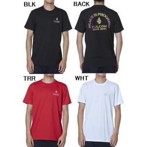 【スケートアパレル】VOLCOM(ボルコム) APAC PEACE IS PROGRESS S/S TEE(Tシャツ)AF511902【350】|bluepeter