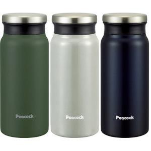 【マグボトル】Peacock(ピーコック) ステンレスボトル 0.4L  AMZ-40【190】|bluepeter