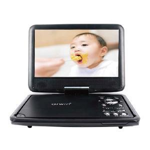 アーウィン 9インチ ポータブルDVD&マルチプレーヤー APD-903Nの商品画像|ナビ
