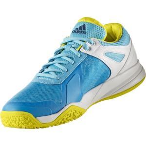 【テニスシューズ】adidas(アディダス) adizero court OC(アディゼロコートOC) オムニ・クレーコート用 BB3413【350】 bluepeter
