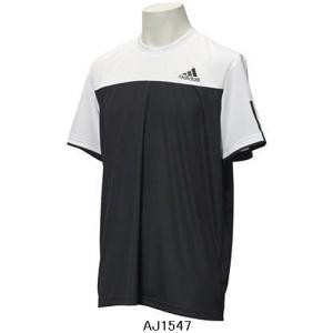 【テニスウエア】ADIDAS(アディダス) メンズ クラブ Tシャツ BBK23【350】 bluepeter