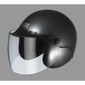 【ヘルメット】ユニカー工業 BH-16G(セミジェットスタイル) 【500】|bluepeter