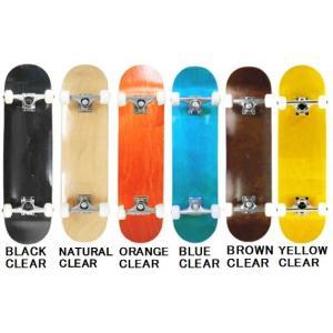【スケートボード】BLANK DECK(ブランクデッキ) NEW TYPE COMPLETE コンプリート(完成品)【350】|bluepeter
