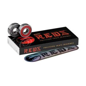 【スケートベアリング】BONES(ボンズ) REDS(レッズ)SKATE BEARING【350】|bluepeter