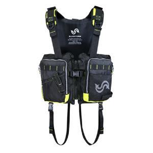 釣り ライフジャケット 高階救命胴衣 AQUA ...の商品画像
