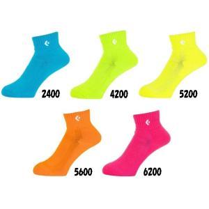 【バスケットソックス】CONVERSE(コンバース) カラーアンクルソックス CB161003【350】|bluepeter
