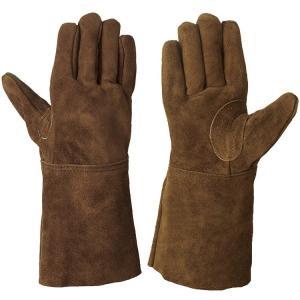 【作業手袋】シモン  綿裏地付 オイル革手袋 CS-900【410】|bluepeter