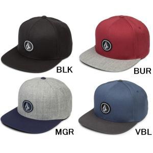 【スナップバックキャップ】VOLCOM(ボルコム) QUARTER TWILL HAT D5511561【350】|bluepeter