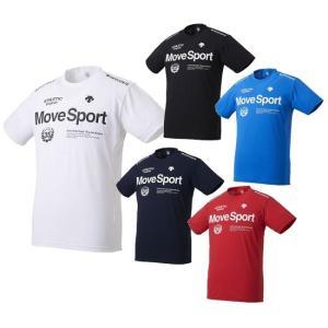 【スポーツトレーニングウエア】DESCENTE(デサント) サンスクリーン ハイブリッド 半袖TシャツDMMNJA56【350】|bluepeter