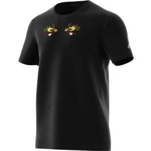 【ラグビーウエア】ADIDAS(アディダス) オールブラックス 日本限定 スカジャン風 半袖Tシャツ FSQ97【350】|bluepeter