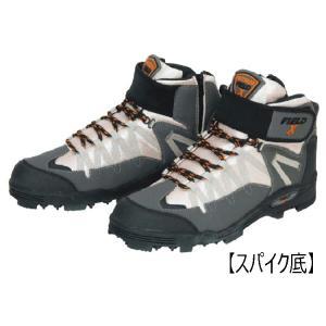 【釣り】阪神素地 FX-901 スパイクシューズ ハイカットモデル【510】|bluepeter