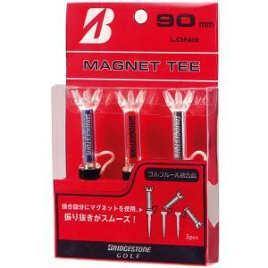 【ゴルフアクセ】BRIDGESTONE(ブリヂストン) マグネットティー 90mm ロング GAGM...