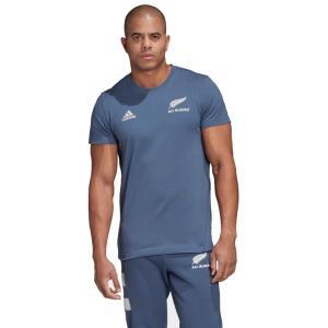 【ラグビーウエア】ADIDAS(アディダス) ALL BLACKS(オールブラックス)コットン 半袖Tシャツ GEW37【350】|bluepeter