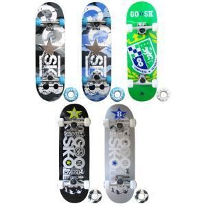 【スケートボード】GO★SK8(ゴースケート) コンプリート(完成品) GOSK8-28【350】|bluepeter