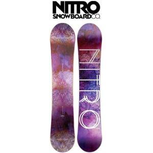 【レディーススノーボード】NITRO(ナイトロ) MYSTIQUE(ミスティック)【350】|bluepeter