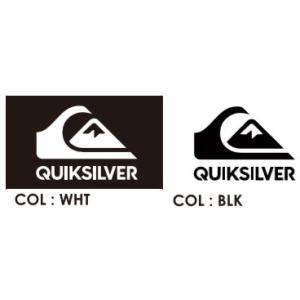 【マリングッズ】QUIKSILVER(クイックシルバー) STICKER(ステッカー)SIZE:170mm×115mm QOA165310【350】 bluepeter