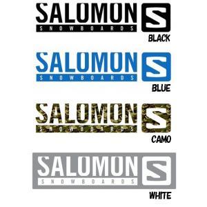 【スノーステッカー】SALOMON(サロモン) STICKER M(カッティングタイプ)SIZE:W270×H58mm【750】 bluepeter