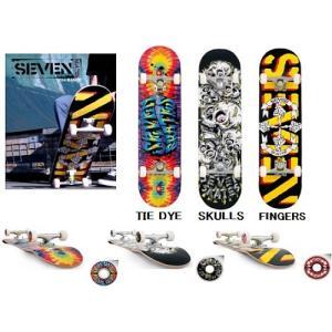【スケートボード完成品】SEVEN(セブン)SKATES COMPLETE DECK(完成品)【350】 bluepeter