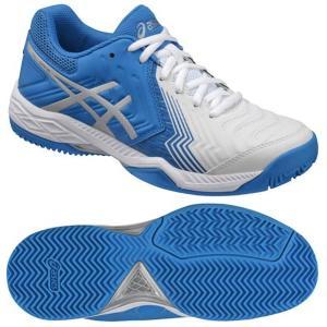 【レディーステニスシューズ】ASICS(アシックス) LADY GEL-GAME 6 OC(オムニ・クレーコート用)TLL792-0143【350】|bluepeter