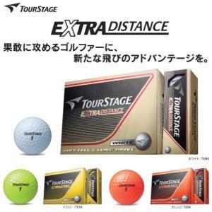 【ゴルフボール】BRIDGESTONE(ブリヂストン) TOUR STAGE(ツアーステージ)EXTRA DISTANCE【350】