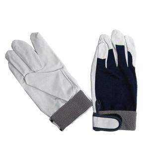 【作業手袋】【まとめ買い】 ユニワールド 革手工房 豚革クレスト360 10双セット【410】|bluepeter
