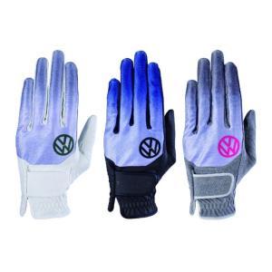 【ゴルフグローブ】Volkswagen(フォルクスワーゲン) ゴルフグローブ(左手用手袋) VWGL-9053【350】 bluepeter