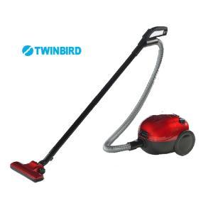 【掃除機】【TWINBIRD】紙パック式クリーナー YC-5021R【590】 bluepeter