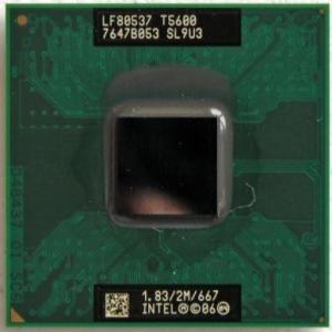 【中古良品】ノート用CPU INTEL Core2 Duo T5600 2M 1.83GHz 667...