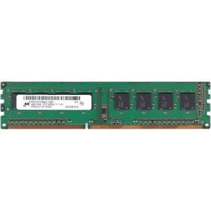 【中古】デスクトップPC用メモリ Micron PC3-12800U DDR3 1600 4GB 1R×8★送料無料★保障有