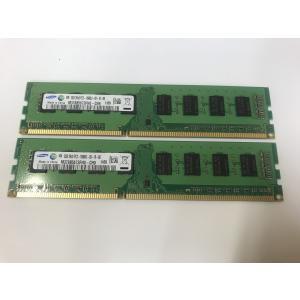 ★在庫処分セール★数量限定★新品★デスクトップPC用メモリ SAMSUNG  DDR3 1333 PC3-10600U 2GB 2枚組 計4GB 増設メモリ【送料無料】