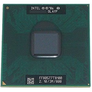 【中古良品】ノート用CPU インテル Core2 Duo プロセッサー T8100 3M 2.10G...