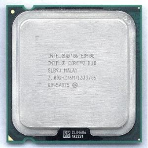 【中古良品】デスクトップ用CPU インテル E8400 6M 3.00GHz 1333MHz  中古CPU 【開店セール】【送料無料】