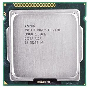 【中古良品】デスクトップ用CPU インテル i5-2400  6M 3.1GHz   中古CPU 【開店セール】【送料無料】