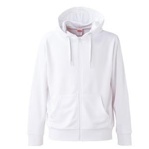 パーカー メンズ レディース 白 ホワイト xs s m l xl xxl ss 2l 3l スウェット フルジップ 保温 速乾 厚手 ジップアップ スポーツ 吸水 長袖 アウター 無地 UV|bluestyle