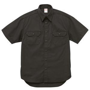 シャツ メンズ レディース 半袖 ワークシャツ 黒 ブラック ビジネス 制服 胸ポケット 無地 ペン差し カジュアル ポケット おしゃれ カラーシャツ クールビズ 男|bluestyle