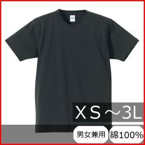 Tシャツ メンズ レディース 半袖 無地 丸首 大きい 厚手 綿 綿100 シャツ tシャツ スポーツ クルーネック ブランド トップス 男 女 丈夫 xs s m l 2l 3l 灰色 黒|bluestyle