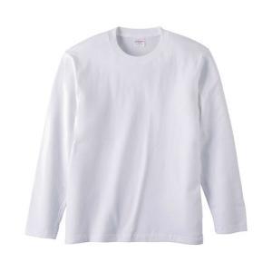 Tシャツ メンズ レディース 長袖 無地 uネック 綿 綿100 大きい 厚手 シャツ tシャツ スポーツ ブランド トップス クルーネック 丈夫 男 女 s m l 2l 3l 白 色 bluestyle