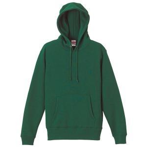 パーカー メンズ レディース 緑 グリーン s m l xl xxl 2l 3l スウェット 無地 プルオーバー 裏起毛 厚手 トレーナー コットン 綿 大きい 長袖 フード トップス bluestyle