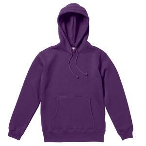 パーカー メンズ レディース 紫 パープル s m l xl xxl 2l 3l スウェット 無地 プルオーバー 裏起毛 厚手 トレーナー コットン 綿 大きい 長袖 フード トップス|bluestyle