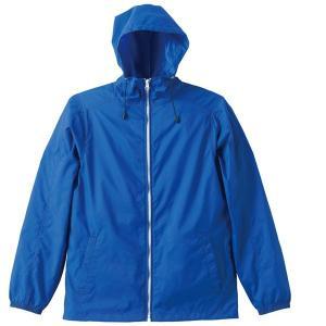 ジャケット メンズ レディース 青 ブルー s m l xl 2l ブルゾン ナイロン 防寒 フード アウター 秋 冬 防風 撥水 無地 ジャンパー カジュアル 大きい 大人 男|bluestyle