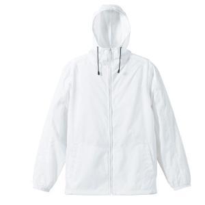 ジャケット メンズ レディース 白 ホワイト s m l xl 2l ブルゾン ナイロン 防寒 フード アウター 秋 冬 防風 撥水 無地 ジャンパー カジュアル 大きい 大人 男|bluestyle