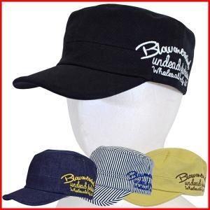 ワークキャップ メンズ レディース キャップ 帽子 デニム おしゃれ キッズ 夏 レイルロード レイルキャップ シンプル ロゴ 刺繍 コットン 綿 アメカジ ジュニア|bluestyle