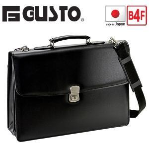 ビジネスバッグ クラッチバッグ カブセ B4F 42cm 2WAY 日本製 豊岡製鞄 G-ガスト メンズ レディース 23472(クロ)|bluestyle