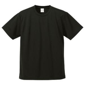 【商品名】 UVカット吸汗速乾ドライ Tシャツ CB5900 ブラック L 【 5枚セット 】  【...